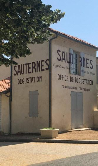 Sauternes degustation part of Cycle Bordeaux tours